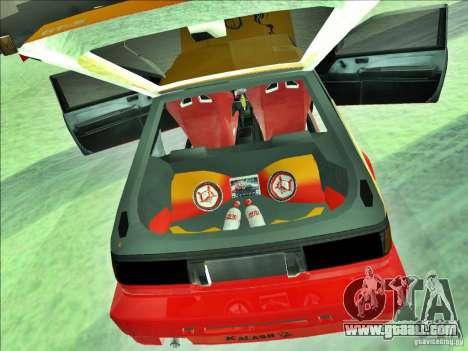 Toyota Trueno AE86 Calibri-Ace for GTA San Andreas back view