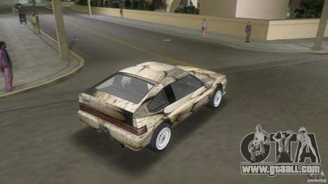 Blista rock stone stock for GTA Vice City left view