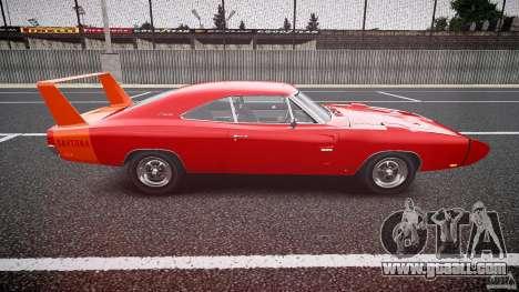 Dodge Charger Daytona 1969 [EPM] for GTA 4 inner view
