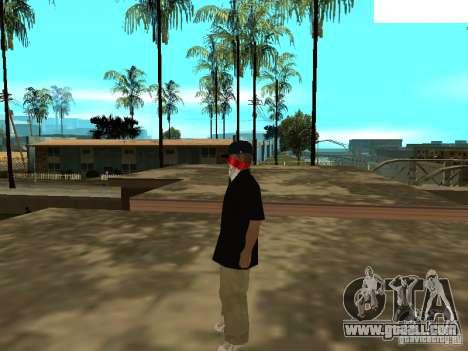 Mexicano Skin for GTA San Andreas second screenshot