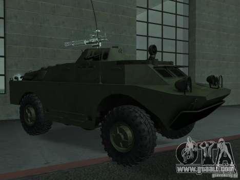 Swatvan with machine gun for GTA San Andreas