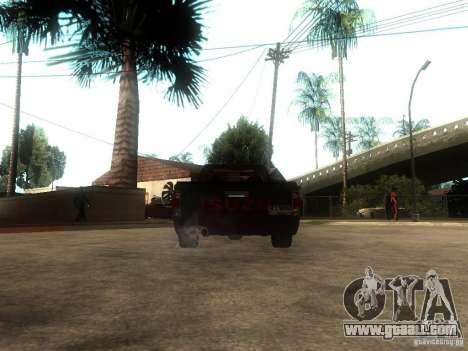 Isuzu D-Max for GTA San Andreas back left view