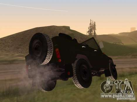 UAZ 469 for GTA San Andreas right view