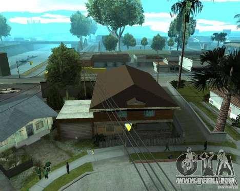 New home CJâ for GTA San Andreas forth screenshot