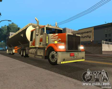 Western Star 4900 EX for GTA San Andreas left view