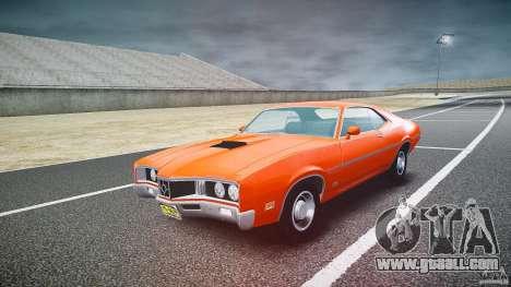 Mercury Cyclone Spoiler 1970 for GTA 4 back view