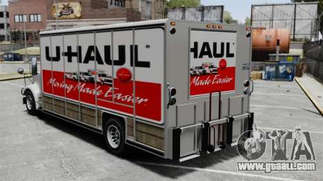 U-Haul Trucking for GTA 4 forth screenshot