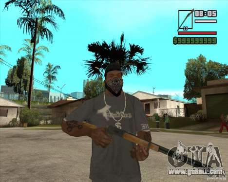 Call of Juarez Bound in Blood Weapon Pack for GTA San Andreas forth screenshot