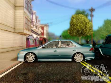 Honda Accord 2001 for GTA San Andreas right view
