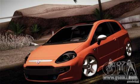 Fiat Punto Evo 2010 Edit for GTA San Andreas