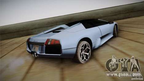 Lamborghini Murcielago Roadster for GTA San Andreas left view