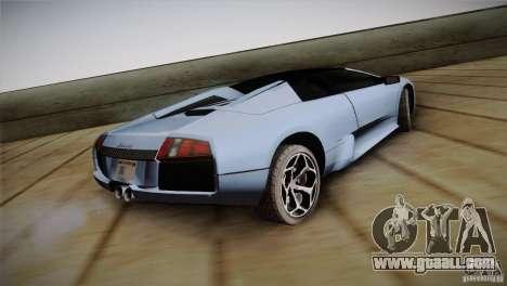 Lamborghini Murcielago Roadster for GTA San Andreas left view