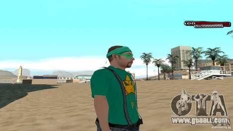 Skin Pack The Rifa Gang HD for GTA San Andreas third screenshot
