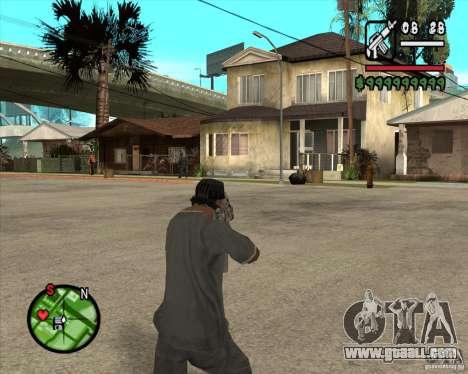 Famas of CoD Black Ops for GTA San Andreas second screenshot