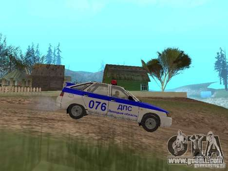 VAZ 21124 DPS for GTA San Andreas left view