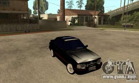 Ford Escort XR3 1992 for GTA San Andreas back view