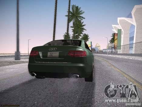 Audi RS6 2009 for GTA San Andreas left view