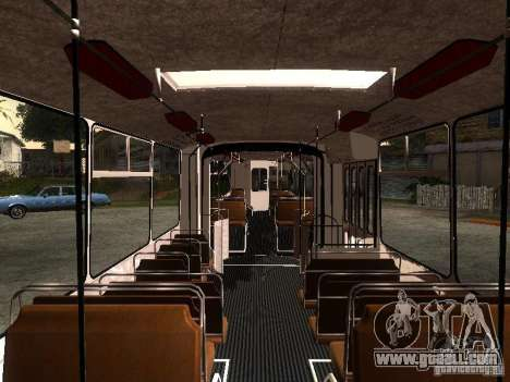 ZiU 683 for GTA San Andreas side view