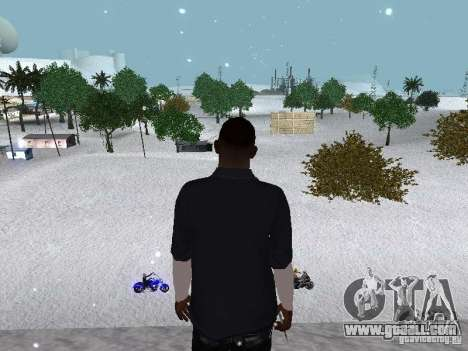 Snow MOD 2012-2013 for GTA San Andreas eleventh screenshot