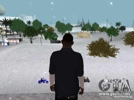 Snow MOD 2012-2013 for GTA San Andreas eleventh screenshot