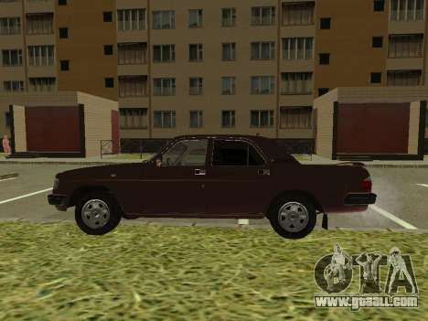 Volga GAZ 3110 for GTA San Andreas back left view
