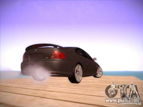 Pontiac FE GTO for GTA San Andreas back view