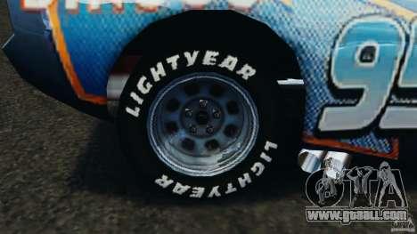 Lightning McQueen Dinoco for GTA 4 back view