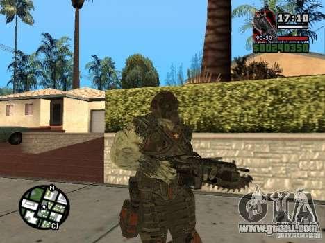 Lokast Grunt from Gears of War 2 for GTA San Andreas