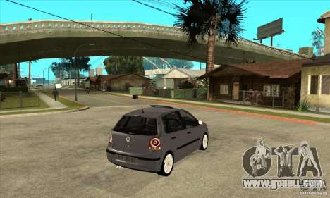 Volkswagen Polo 2008 for GTA San Andreas right view