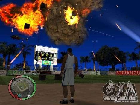 RAIN OF BOXES for GTA San Andreas sixth screenshot