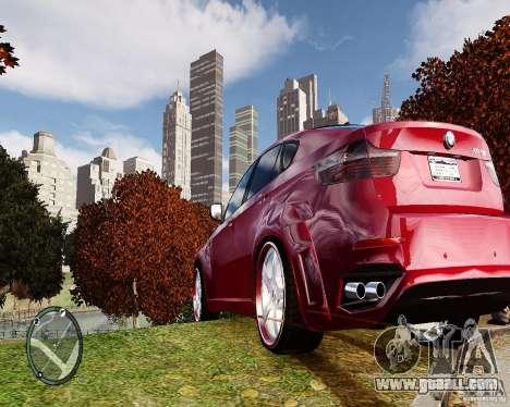 BMW X6M Lumma for GTA 4 right view