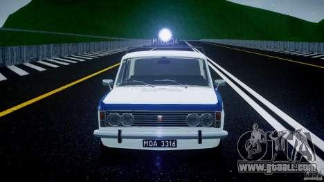 Fiat 125p Polski Milicja for GTA 4 bottom view