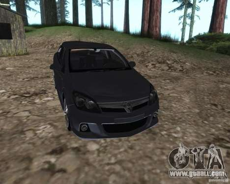 Vauxhall Astra VXR for GTA San Andreas right view