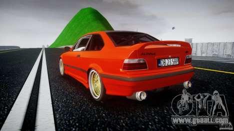 BMW E36 Alpina B8 for GTA 4 back left view