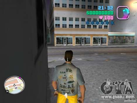 Pak new skins for GTA Vice City