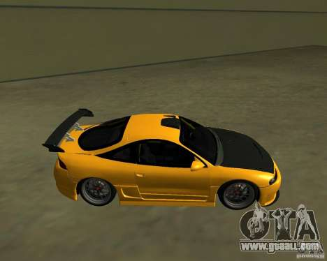 Mitsubushi Eclipse GSX tuning for GTA San Andreas left view
