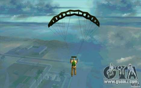 Military parachute for GTA San Andreas second screenshot