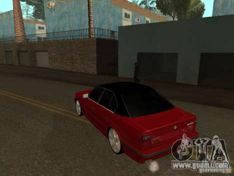 BMW 540i E34 for GTA San Andreas right view
