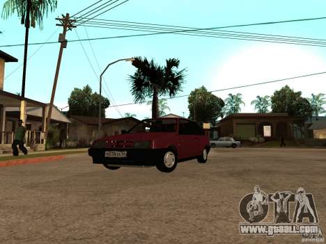 VAZ 2108 Drain for GTA San Andreas