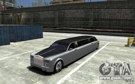 Rolls-Royce Phantom Sapphire Limousine v.1.2 for GTA 4