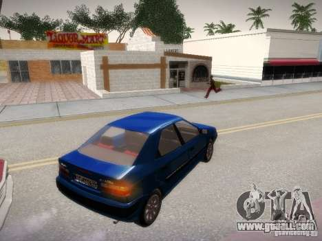 Citroën Xantia for GTA San Andreas left view