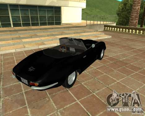 Jaguar E-Type 1963 for GTA San Andreas back left view