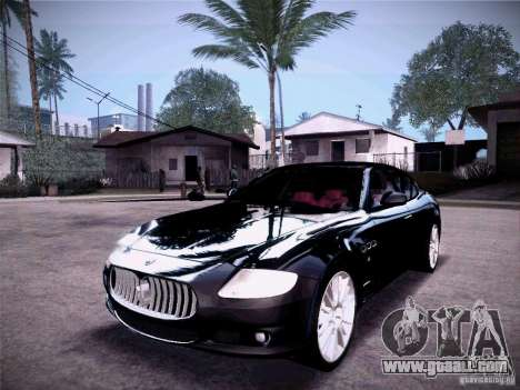 Maserati Quattroporte 2010 for GTA San Andreas