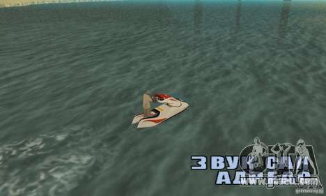 Hydrocycle for GTA San Andreas left view