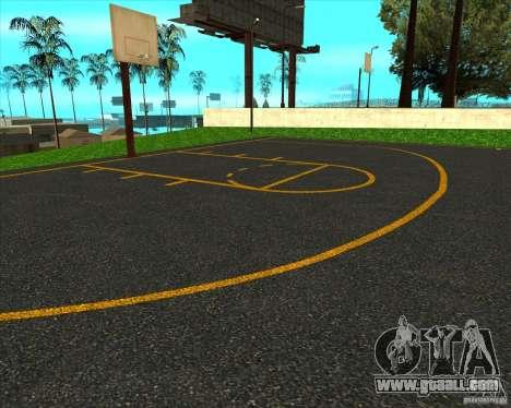 HQ basketball for GTA San Andreas