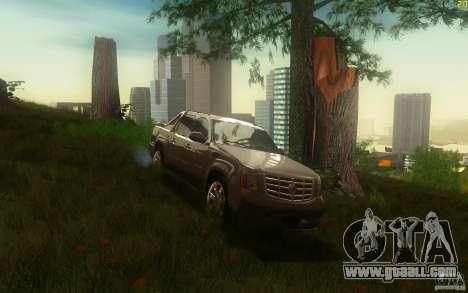 Cadillac Escalade EXT for GTA San Andreas
