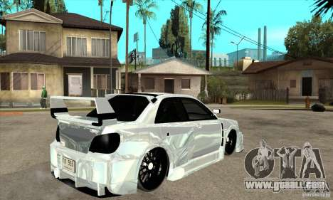 Subaru Impreza Tunned for GTA San Andreas right view