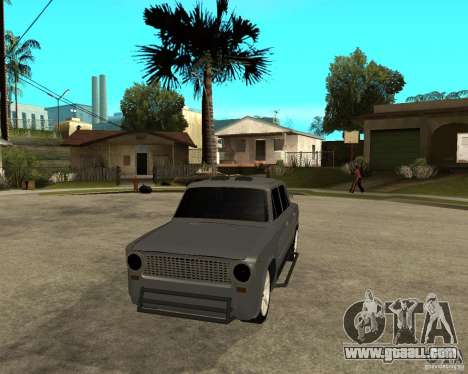 VAZ 2101 Hard tuning for GTA San Andreas