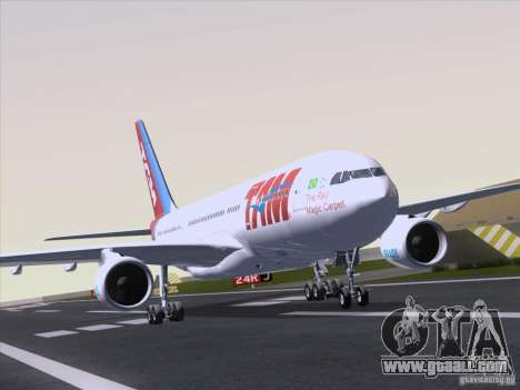 Airbus A330-223 TAM Airlines for GTA San Andreas left view