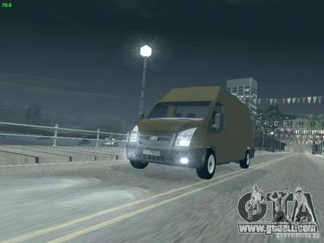 Ford Transit Jumbo 350L 2009 for GTA San Andreas